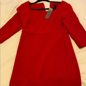 Brand new Ann Taylor red holiday dress